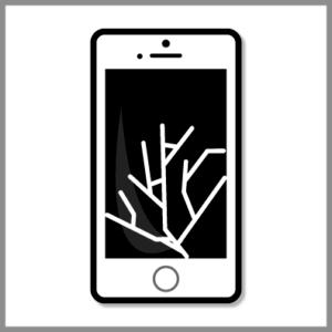 iPhone ガラス交換修理