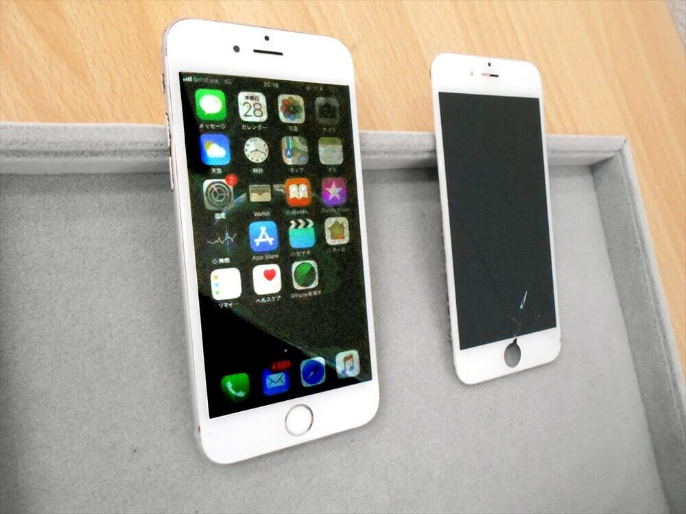 iPhone6 液晶交換 安いお店を探してご来店頂きました!