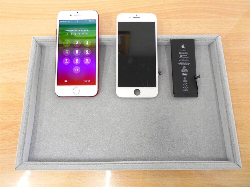 iPhoneガラス・バッテリー交換