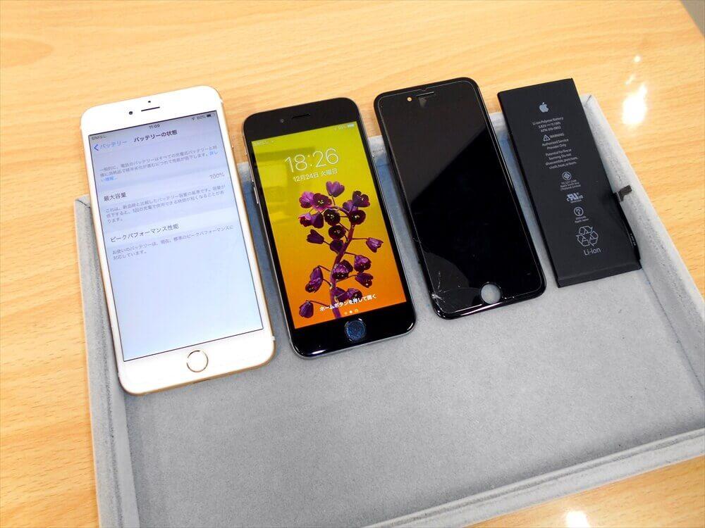 お子様へiPhoneのプレゼント!バッテリーの完全放電にはご注意ください!