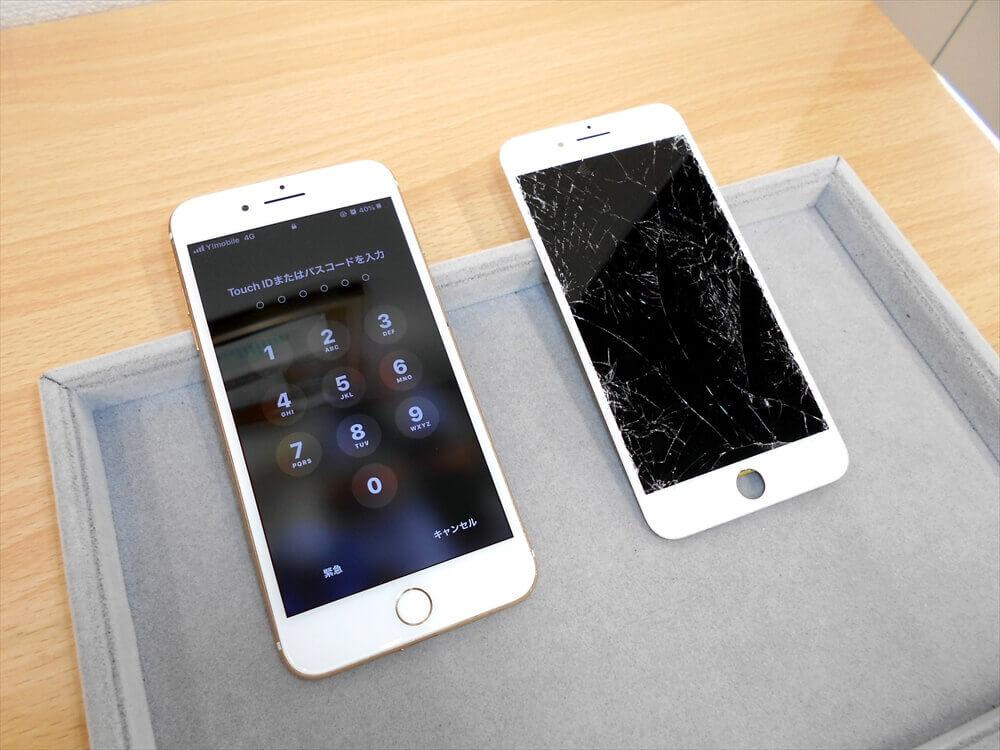 iPhoneが激しい損傷から復活しました!