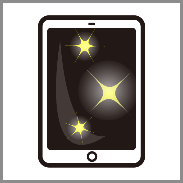 iPadガラスコーティング